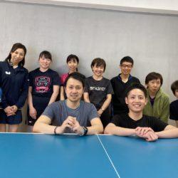 第6回 村田雄平コーチの卓球年間プログラム 6月20日開催